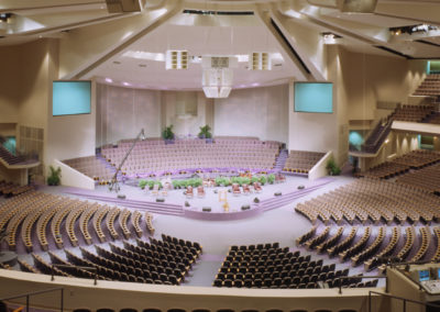 New Birth Missionary Baptist Church Sanctuary and Chapel