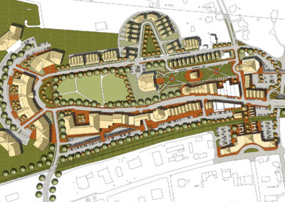 City of Duluth Master Plan, Town Green & Festival Center